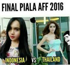 Foto Meme Indonesia - longgarkan otot sejenak dengan meme dari laga indonesia vs thailand
