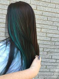 best 25 blue hair highlights ideas on pinterest colored