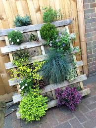 vertical pallet garden step out and explore