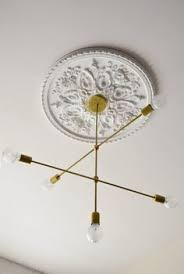 Modern Ceiling Light Fixture by Mobile Chandelier Gold Adjustable Arms Contemporary Ceiling Light