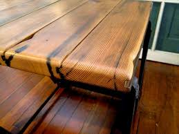 Building A Reclaimed Wood Table Top by Handmade Furniture Reclaimed Wood Dining Table The Alternative