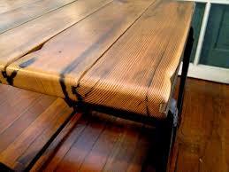 handmade furniture reclaimed wood dining table the alternative