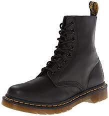womens boots amazon uk amazon com dr martens s pascal leather combat boot
