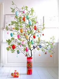 Easter Tree With Decorations by Elegant Easter Tree Decorations Easter Decorations Galleries