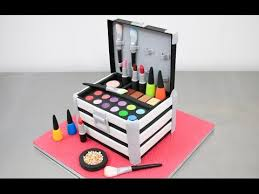 makeup cake toppers makeup cosmetics box cake nail polishes lipsticks toppers how to