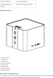 a7908 bluetooth speaker user manual manual anker technology co