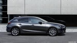 mazda 3 hatchback 2017 mazda 3 5 door hatchback color machine grey side hd