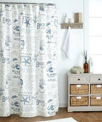 Themed Fabric Shower Curtains Inspiring Beachy Shower Curtains And Themed Fabric Shower