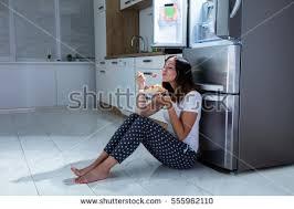 floor in near refrigerator stock photo 566250478