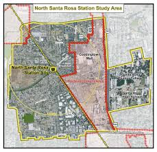 Srjc Map Santa Rosa Planning Commission To Vet The Plan For Smart Station