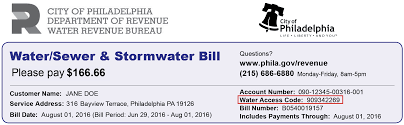 customer assistance program city of philadelphia water bill