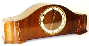 Mantle Clock Kits Hermle Chiming Mantel Clock Art Deco Bauhaus Germany Ebay Art