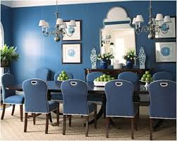 Top Paint Picks For Navy Blue Walls Jenna Burger - Navy and white dining room