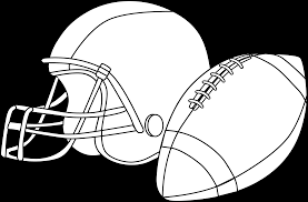 football or rugby coloring page free clip art