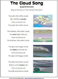 types of clouds engaging activities to help retain information