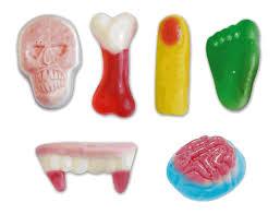 gummy missing body parts bulk halloween candy 4 4lb