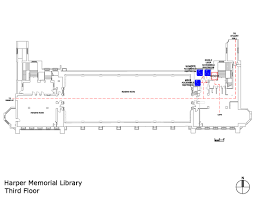 uchicago maps harper memorial library accessible entrances and
