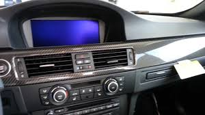bmw m3 carbon fiber factory interior trim youtube