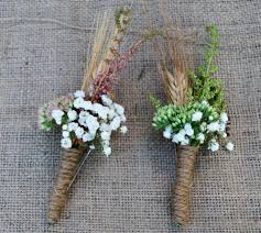 burlap boutonniere boutonnieres with burlap and wheat buckets fresh flower market