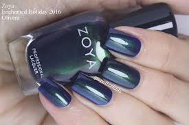 grape fizz nails zoya enchanted holiday 2016 swatches and review