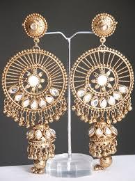 jhumki style earrings indian jhumki style earrings costume jewellery costume
