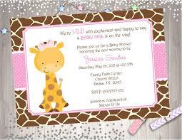 giraffe themed baby shower designs free printable giraffe baby shower invitation also baby