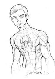 spiderman peter parker by jobonito on deviantart male figure