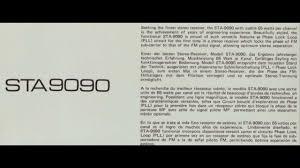 Seeking De Que Se Trata Nib Nikko Sta 9090 Stereo Receiver