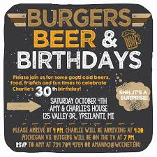charlie u0027s 30th birthday surprise burgers beer u0026 birthdays