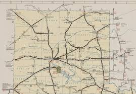 map ok panhandle history of amarillo 1939 1941 route maps of amarillo