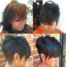 hot atlanta short hairstyles razor chic of atlanta hair pinterest razor chic hair style