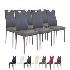 chaise de cuisine grise chaise cuisine grise amazon fr
