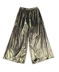 msk gold black women u0027s size xl pull on wide leg dress pants pants