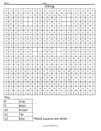 free color by number worksheets to coloring by numbers ncc8
