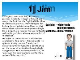 class 11th english novel character sketch u2014 english