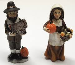 thanksgiving pilgrim figurines 10 inch thanksgiving pilgrim couples figurines thanksgiving wikii