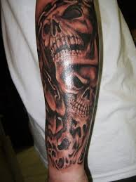 best skull tattoos for legs leg sleeves and picture