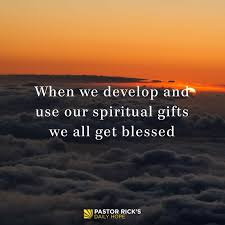 every believer has spiritual gifts