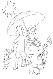 summer color pages summer coloring pages to print