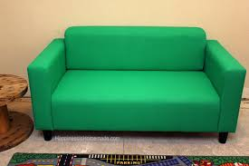 Small Sofa Designs How To Easily Make Over A Sofa With Paint Happiness Is Homemade