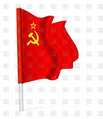 China Flag Waving Waving Flag Of The Union Of Soviet Socialist Republics Royalty