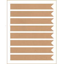 Printable Flag Amazon Com 40 Printable Long Flag Labels 7 5