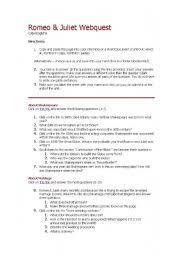english worksheets romeo juliet worksheets page 10