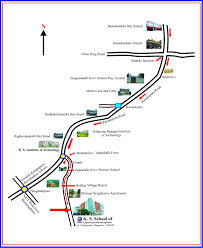 Route Mapping by Ks Of Engineering And Management Civil Engineering Events