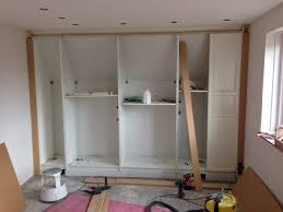 Ikea Walk In Closet Hack by Pax Built In For Sloping Ceiling Ikea Hackers Ikea Hackers