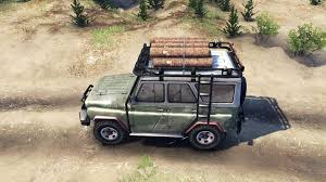uaz jeep 469 b for spin tires