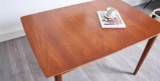 mobilier vintage scandinave nouveau table à manger extensible style scandinave 1960