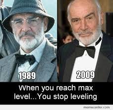 Sean Connery Memes - sean connery levels by ben meme center