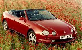 toyota celica convertible for sale uk the toyota celica history toyota