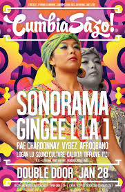 cumbiasazo dance party ft sonorama gingee los